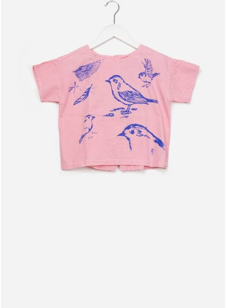 Bobo Choses Bird short sleeve shirt