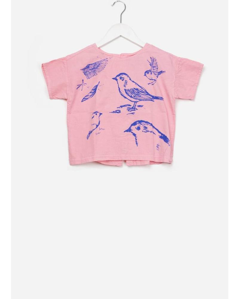 Bobo Choses Bird short sleeve shirt