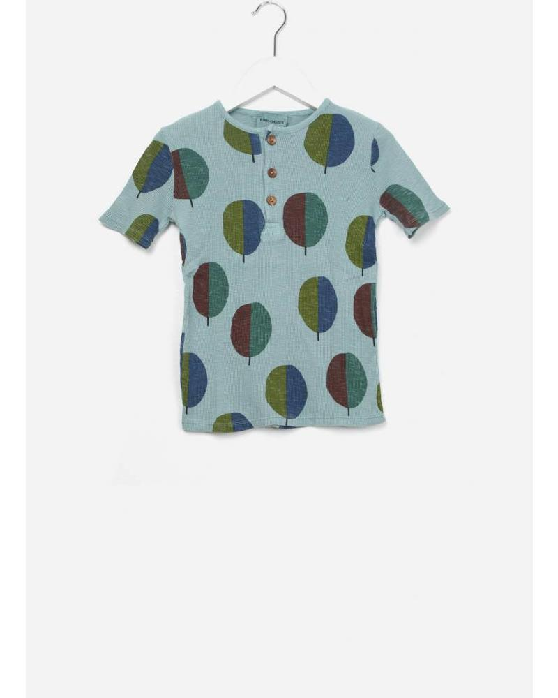 Bobo Choses Forest buttons shirt