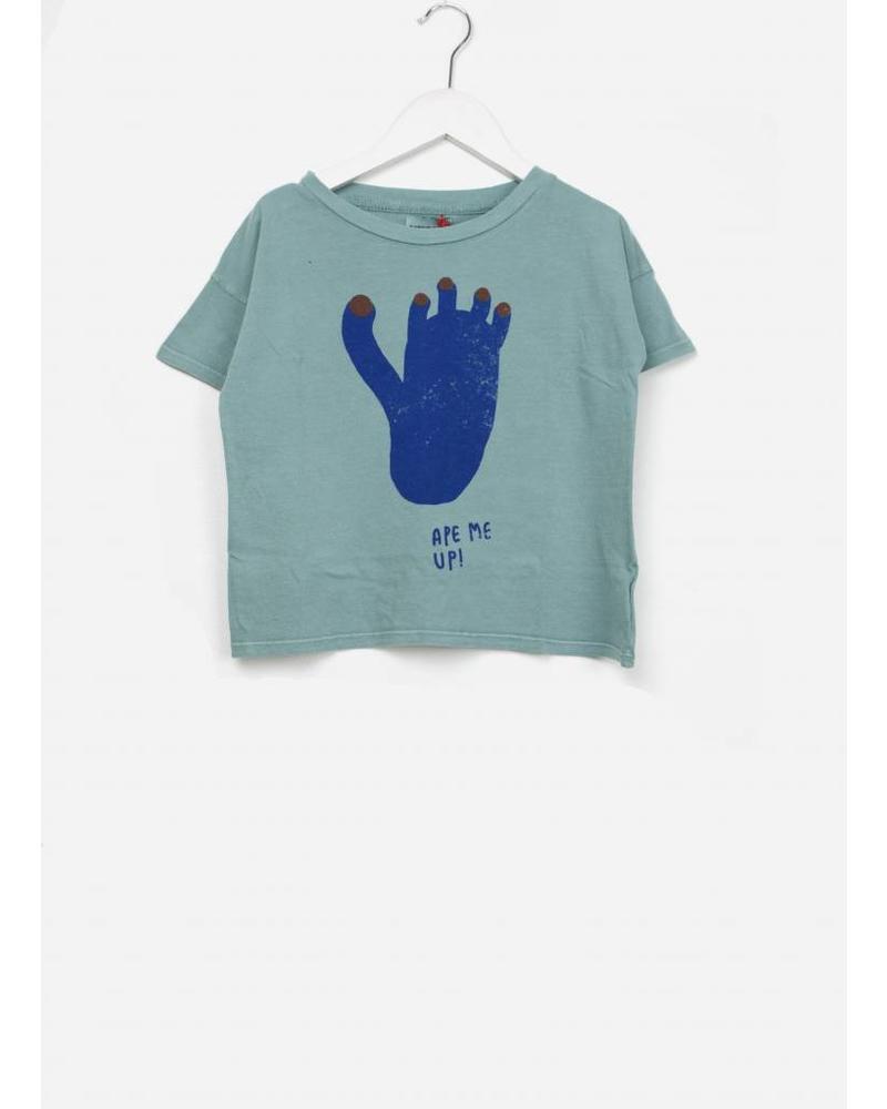 Bobo Choses Footprint short sleeve shirt