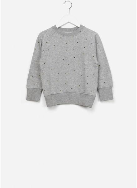 Bellerose Feed sweater grijs