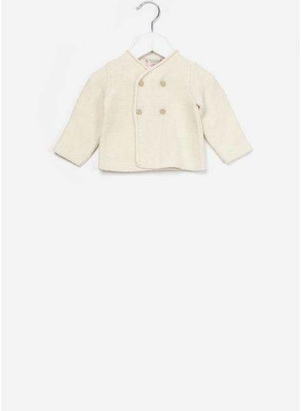 Bonpoint baby vest coton bio creme