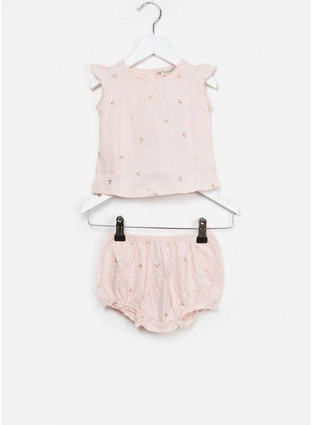 Bonpoint baby setje 2-delig roze