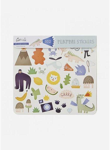 Olli Ella oe-playav sticker jungle