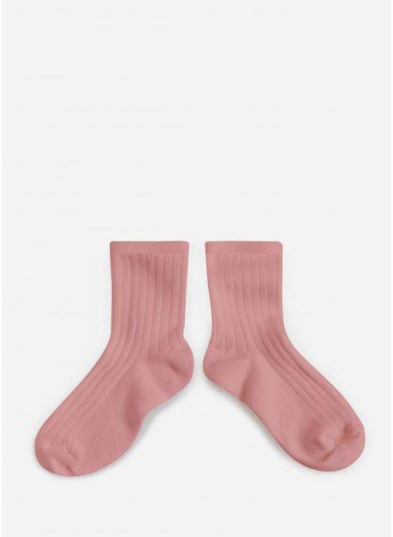 Collegien sokken rose quartz