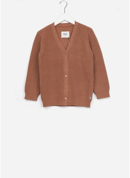 Repose Knit cardigan powder mud