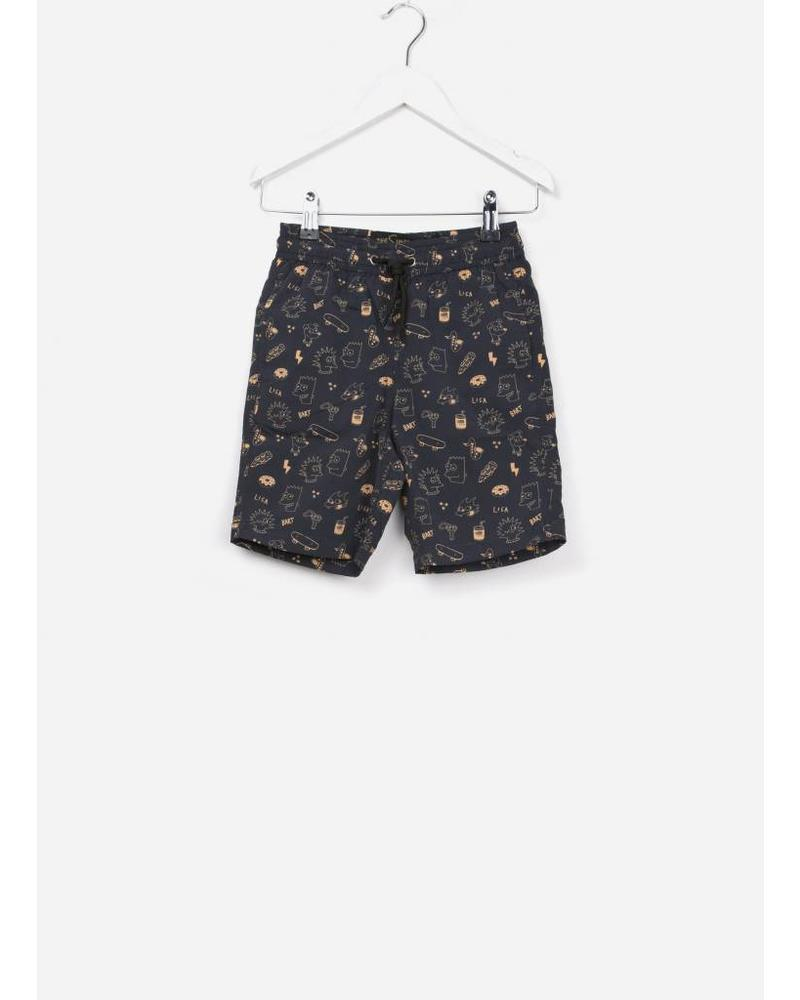 Finger in the nose Goodboy swim bermudas black