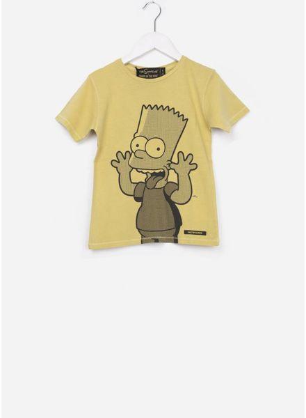 Finger in the nose Dalton ss t-shirt honey funny bart
