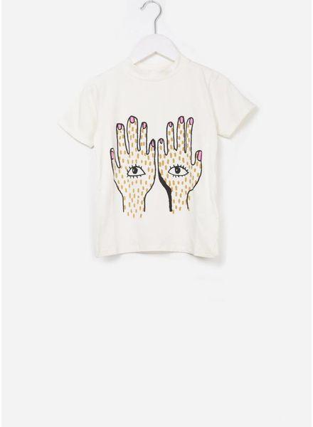 Soft Gallery Aulona t-shirt gardenia hands