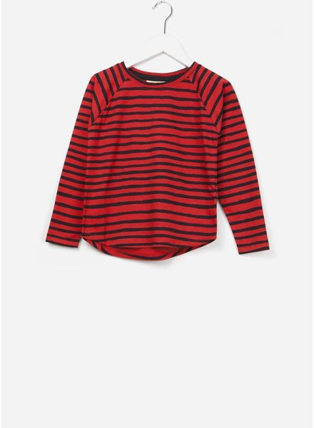 Soft Gallery Viggo t-shirt flame scarlet ribbon big