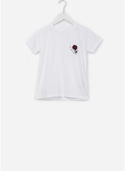 Soft Gallery Bass t-shirt white rose