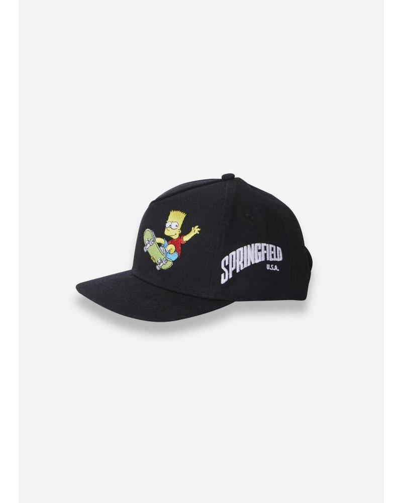 Finger in the nose Sunblade woven cap black
