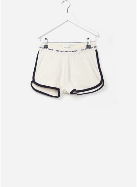 Les Coyotes De Paris Jenny short off white