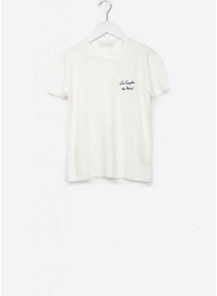 Les Coyotes De Paris Vanessa shirt off white