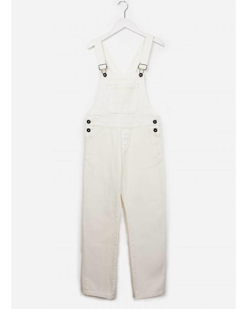 Les Coyotes De Paris Sienna dungaree off white
