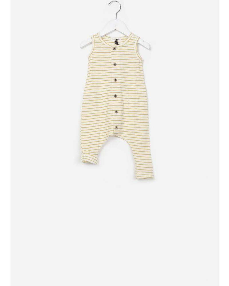 1+ In The Family Mondriaan jumpsuit mustard