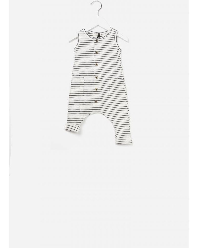 1+ In The Family Mondriaan jumpsuit blu notte