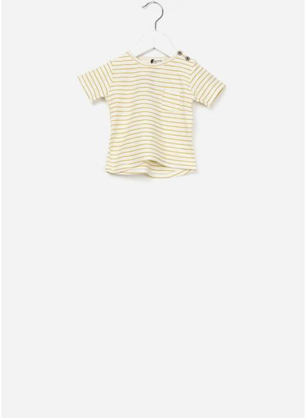 1+ In The Family Magritte t-shirt mustard