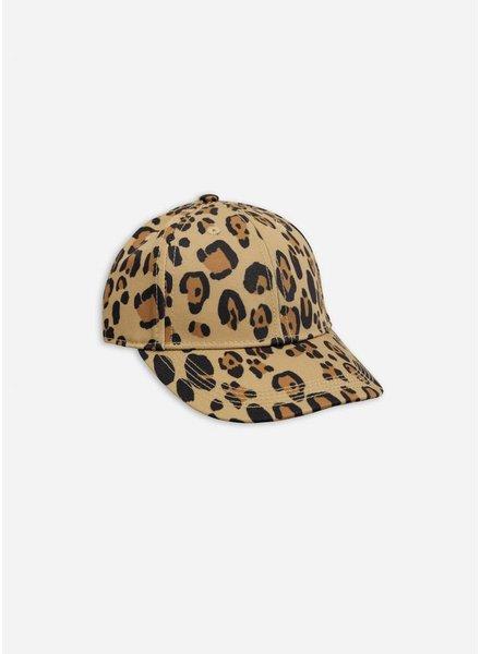 Mini Rodini Leopard cap beige