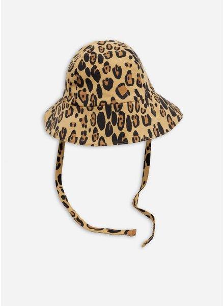 Mini Rodini leopard sunhat beige