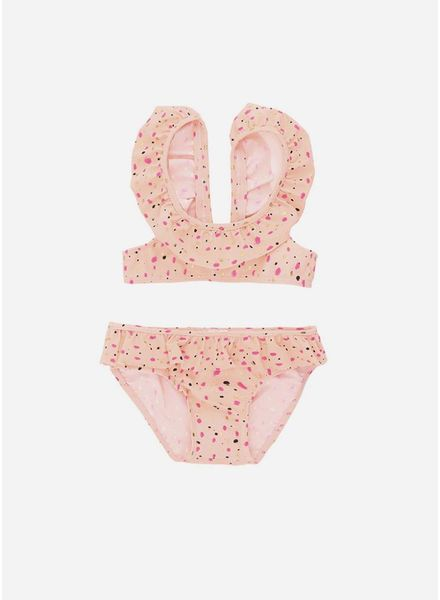 Soft Gallery Alicia bikini peach parfait shimmy