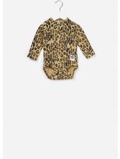 Mini Rodini Basic leopard body beige
