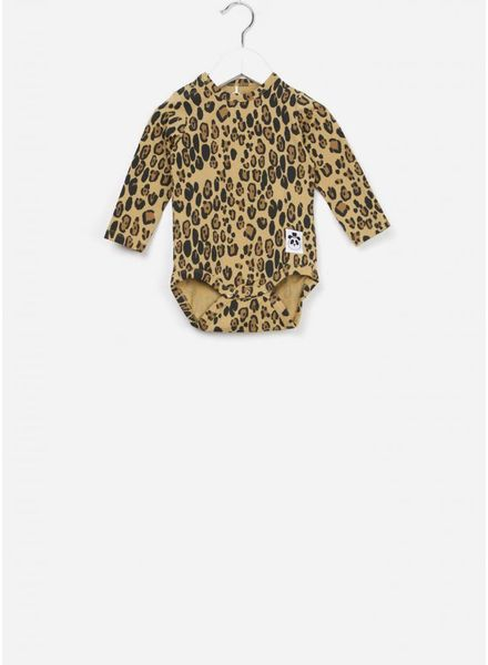 Mini Rodini Basic leopard body beige