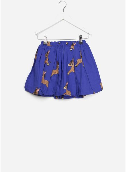 Mini Rodini Donkey woven baloon skirt blue