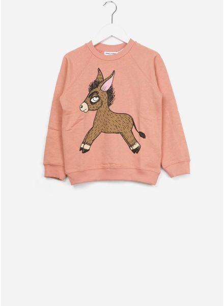 Mini Rodini Donkey sweatshirt pink