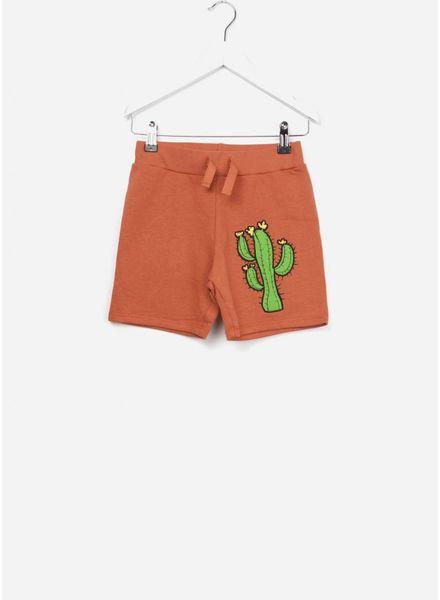 Mini Rodini Donkey cactus shorts orange