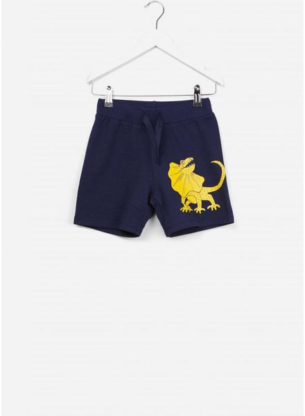 Mini Rodini Draco sweat shorts navy