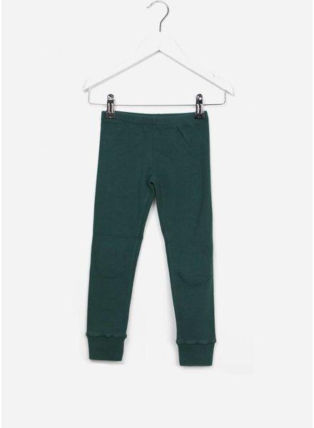 Mingo Legging rain forest green rib jersey