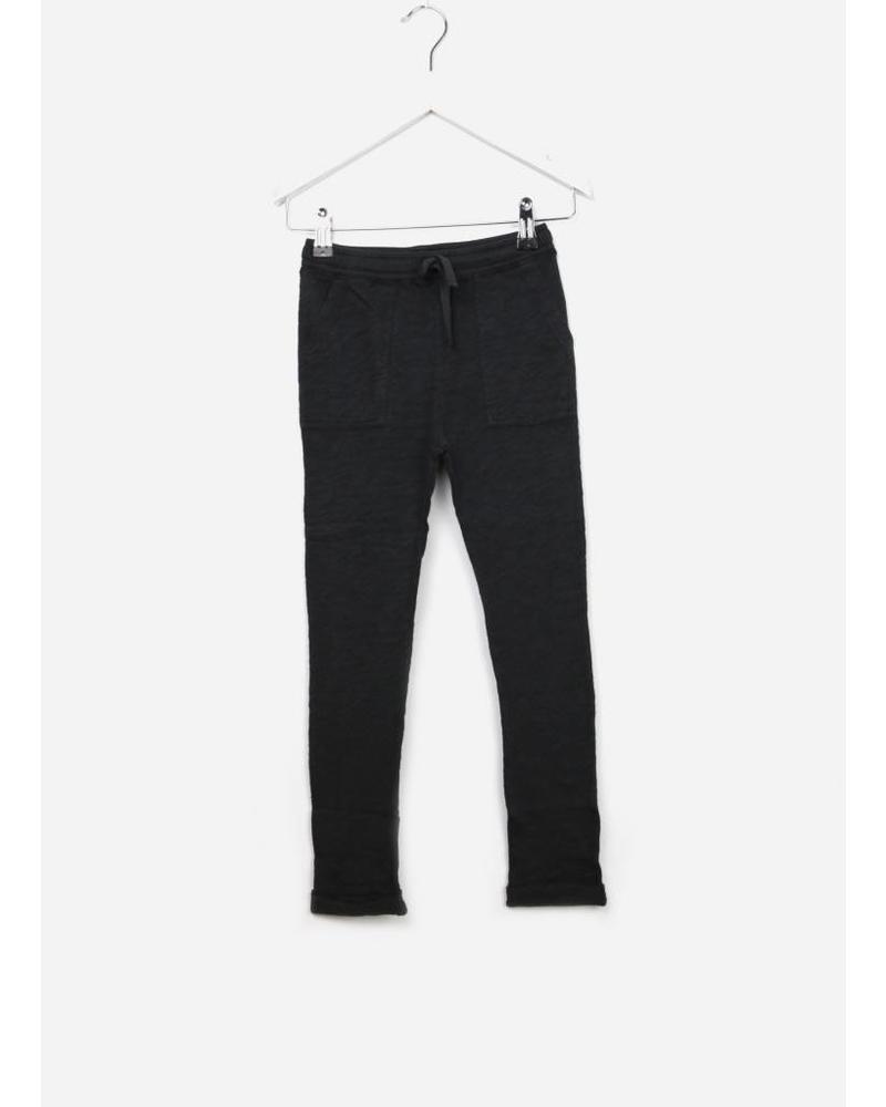 Bonton pantalon jersey noir charbon