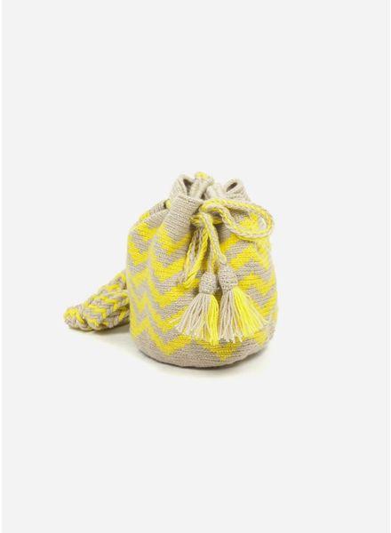 Guanabana extra small Wayuu bag
