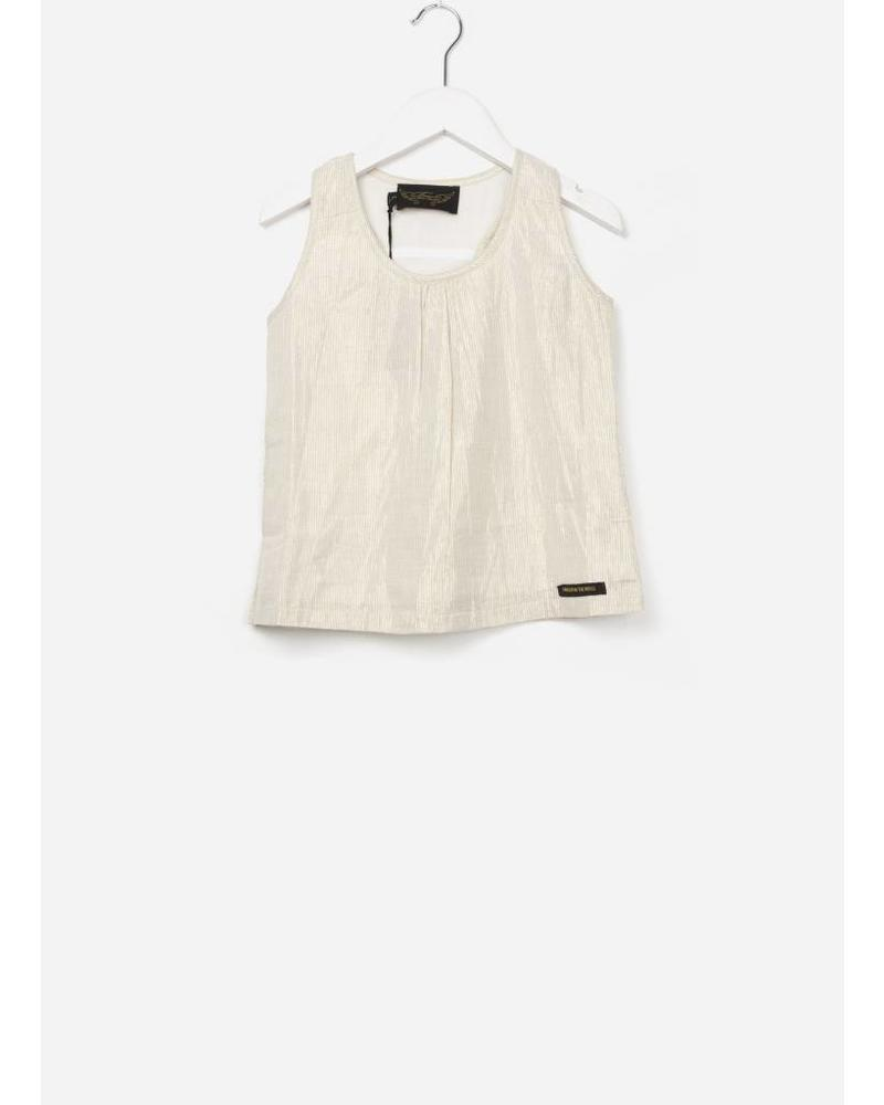 Finger in the nose Sherbrook tank top gold metal stripes