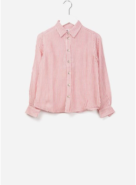 Morley Ben trame red boysshirt