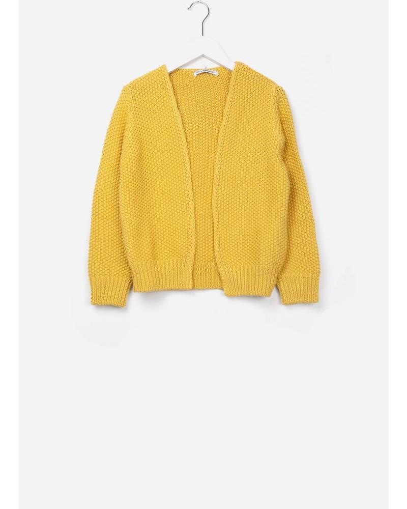 Mingo cardigan marigold cotton