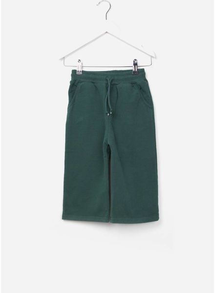 Mingo cropped pant rain forest green sweat