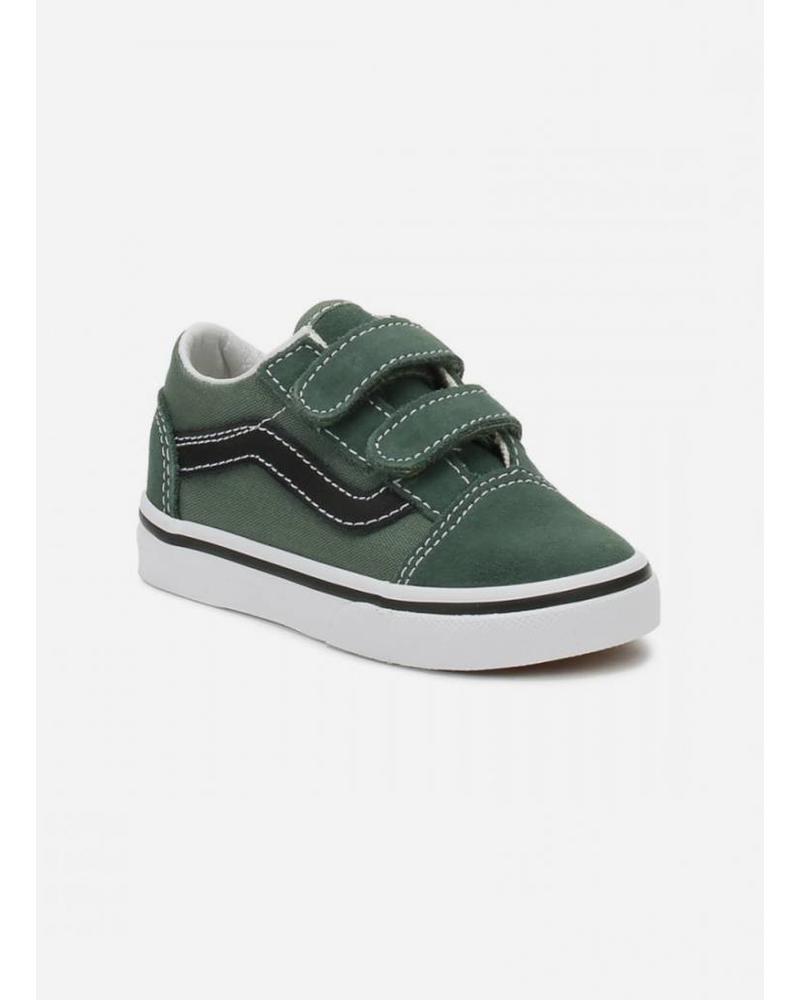 Vans old skool v duck green/black