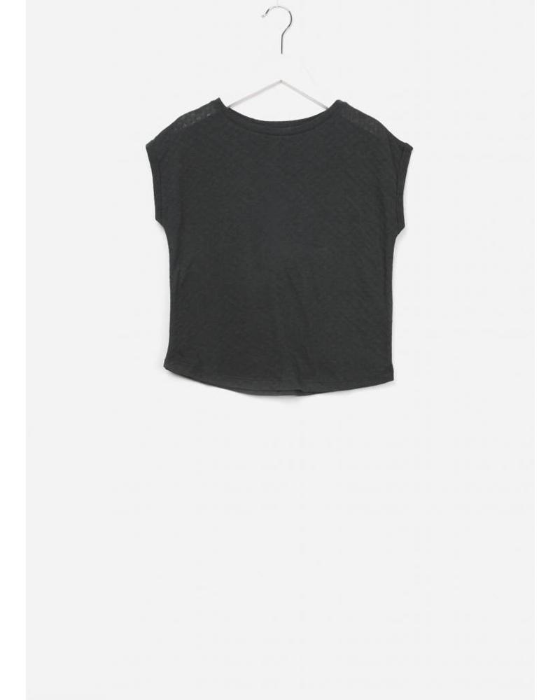 By Bar Bobby weave top off black