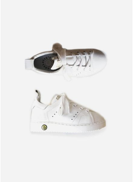 Golden Goose Sneaker starter white leather