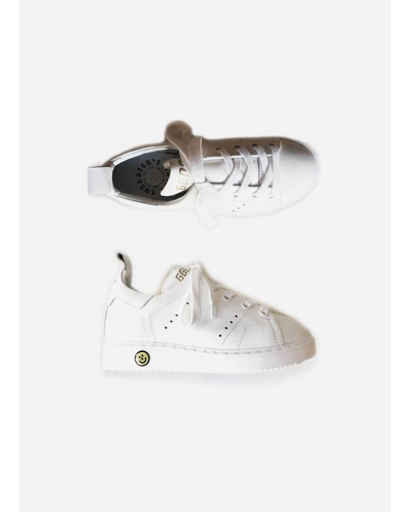 Golden Goose Sneaker starter white leather