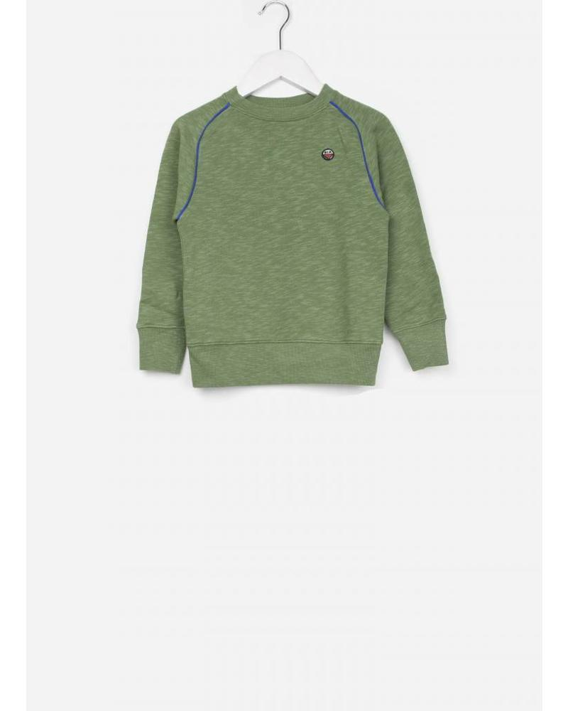 Bellerose Feed sweatshirt army 039