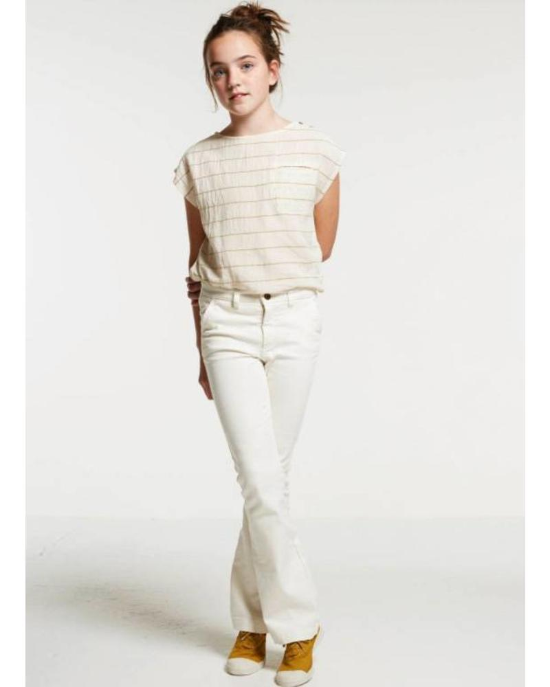 By Bar Leila pant off white