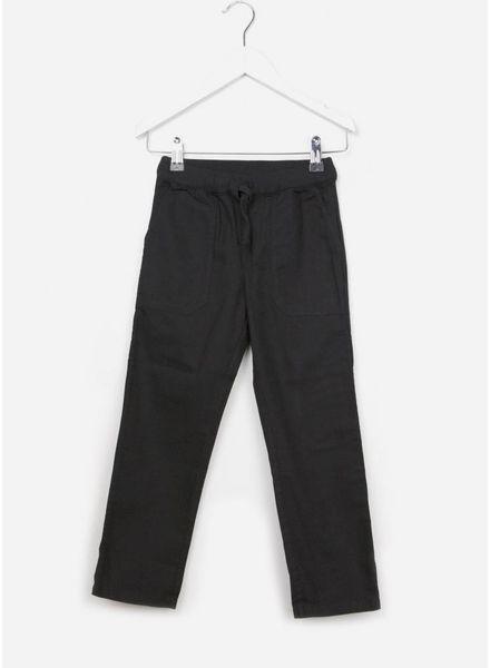 Bonpoint PANTALON tailleband tricot zwart