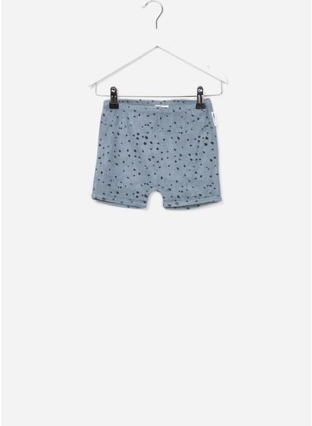 Maed for mini short blue leopard