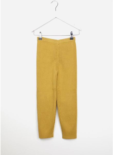 Maed for mini knit pants gold gecko