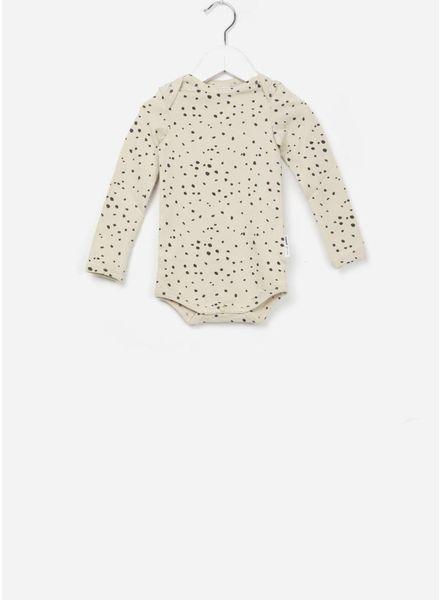 Maed for mini bodysuit sahara leopard