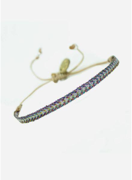 Guanabana Armband multi lurex
