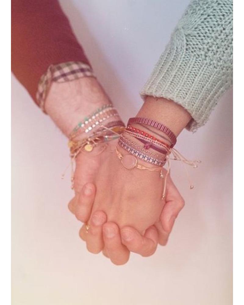Guanabana Armband smiley zilver